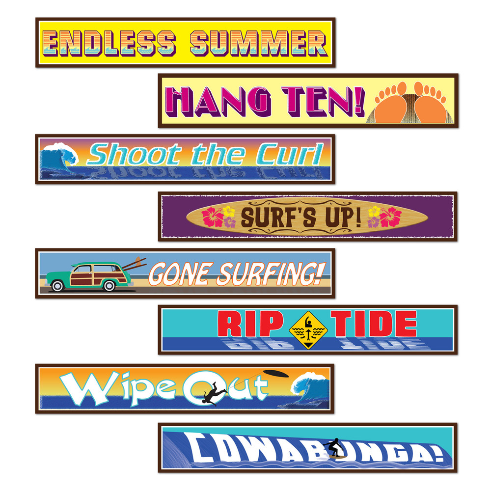 Surfer Street Signs