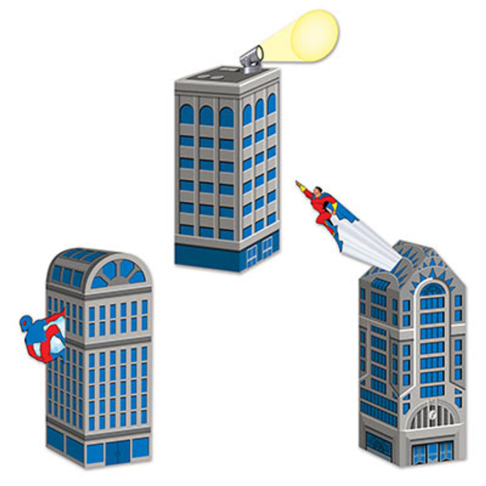 Hero City Scape Favour Boxes