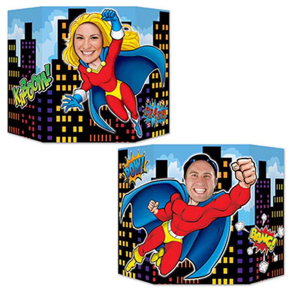 Hero Photo Prop Double Sided