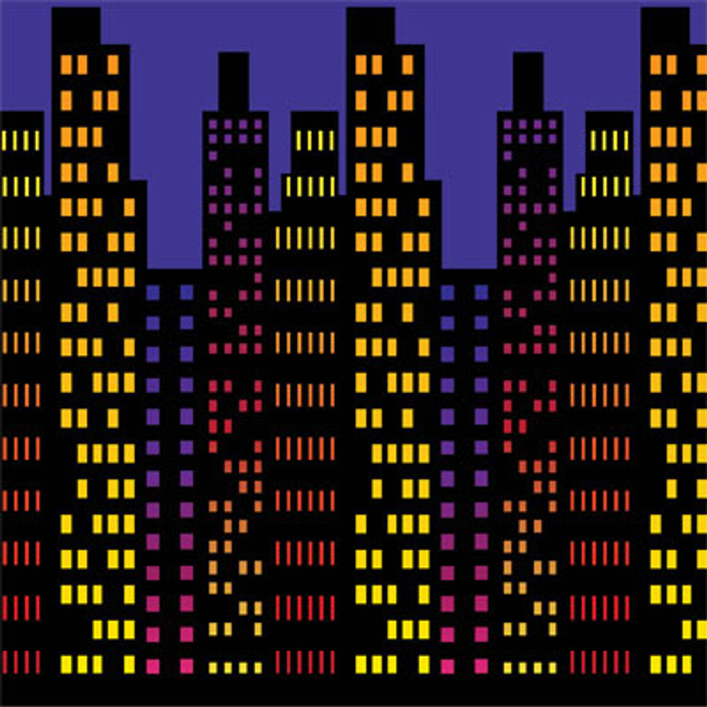 Movie Backdrop Cityscape