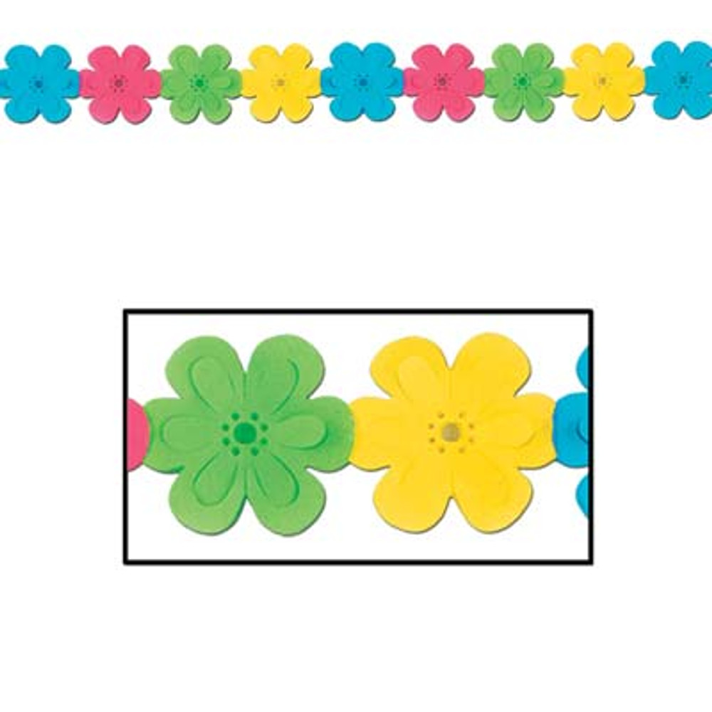 Hippie Flower Garland