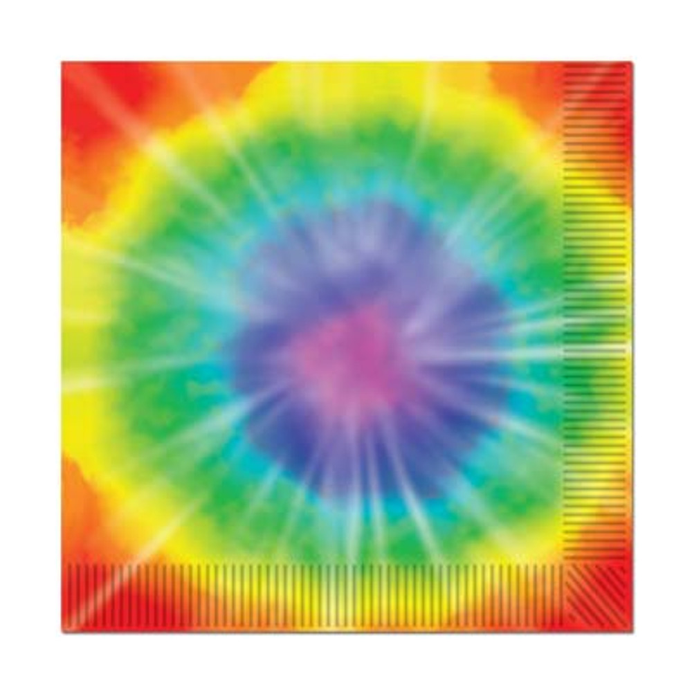 Hippie Tyed Dyed Luncheon Napkins