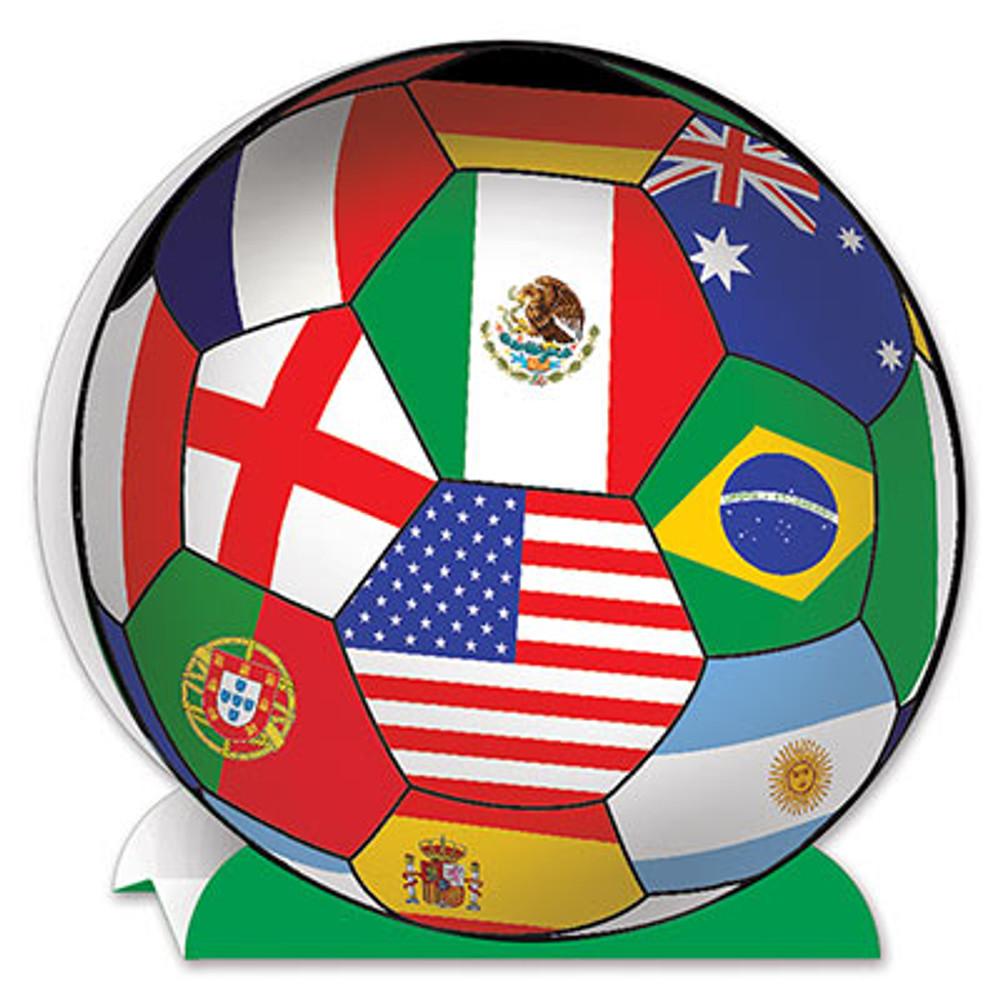 Soccer Ball Centrepiece International