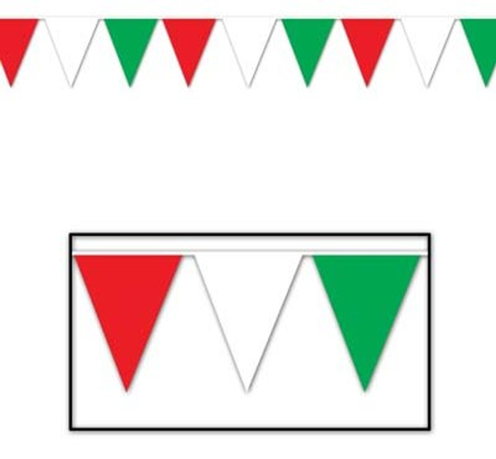 Red, White & Green Banner