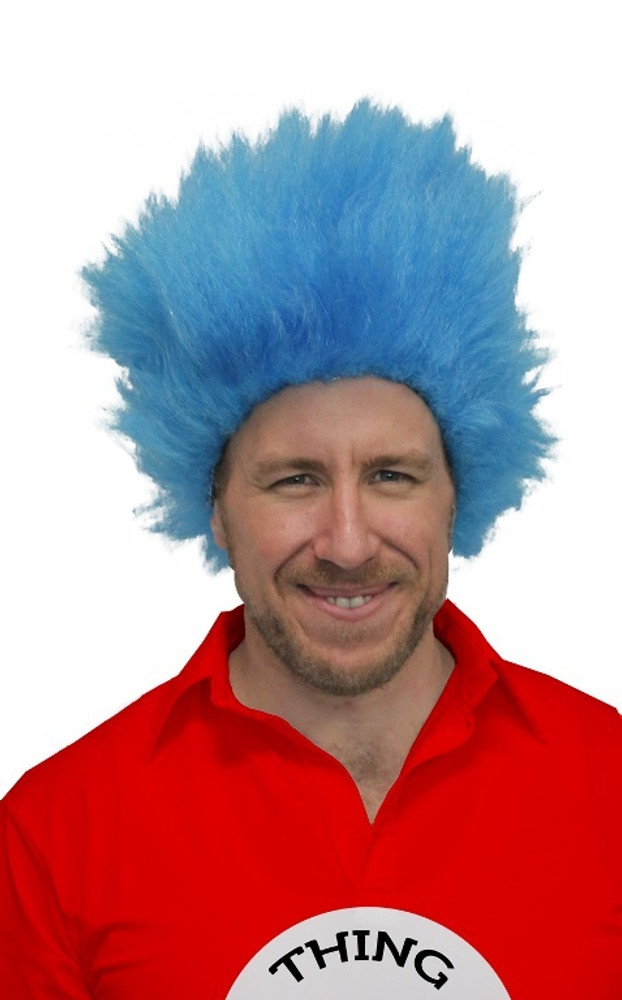 Dr. Seuss Cat in the Hat - Thing 1 and Thing 2 Wig