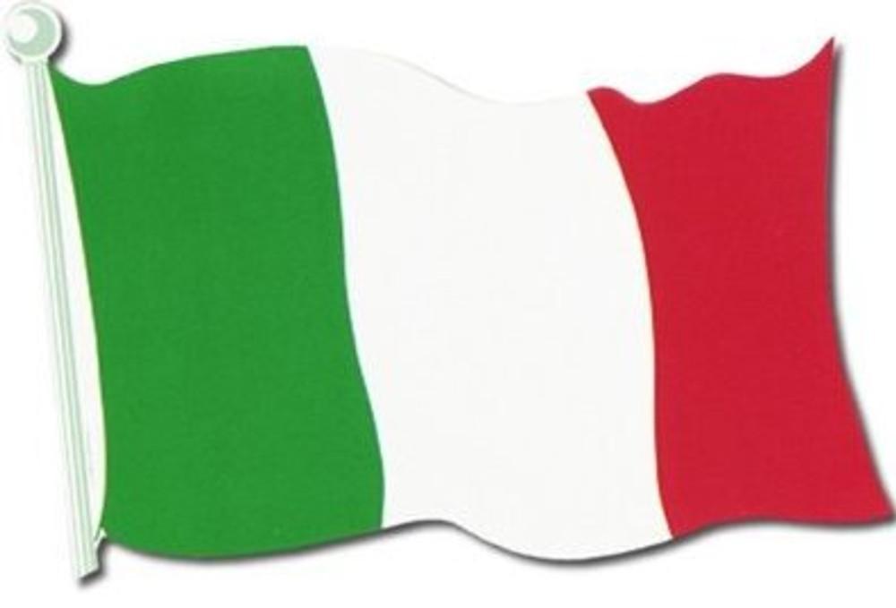 Italian Flag Cut Out