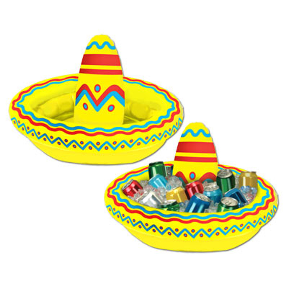 Inflatable Sombrero Cooler