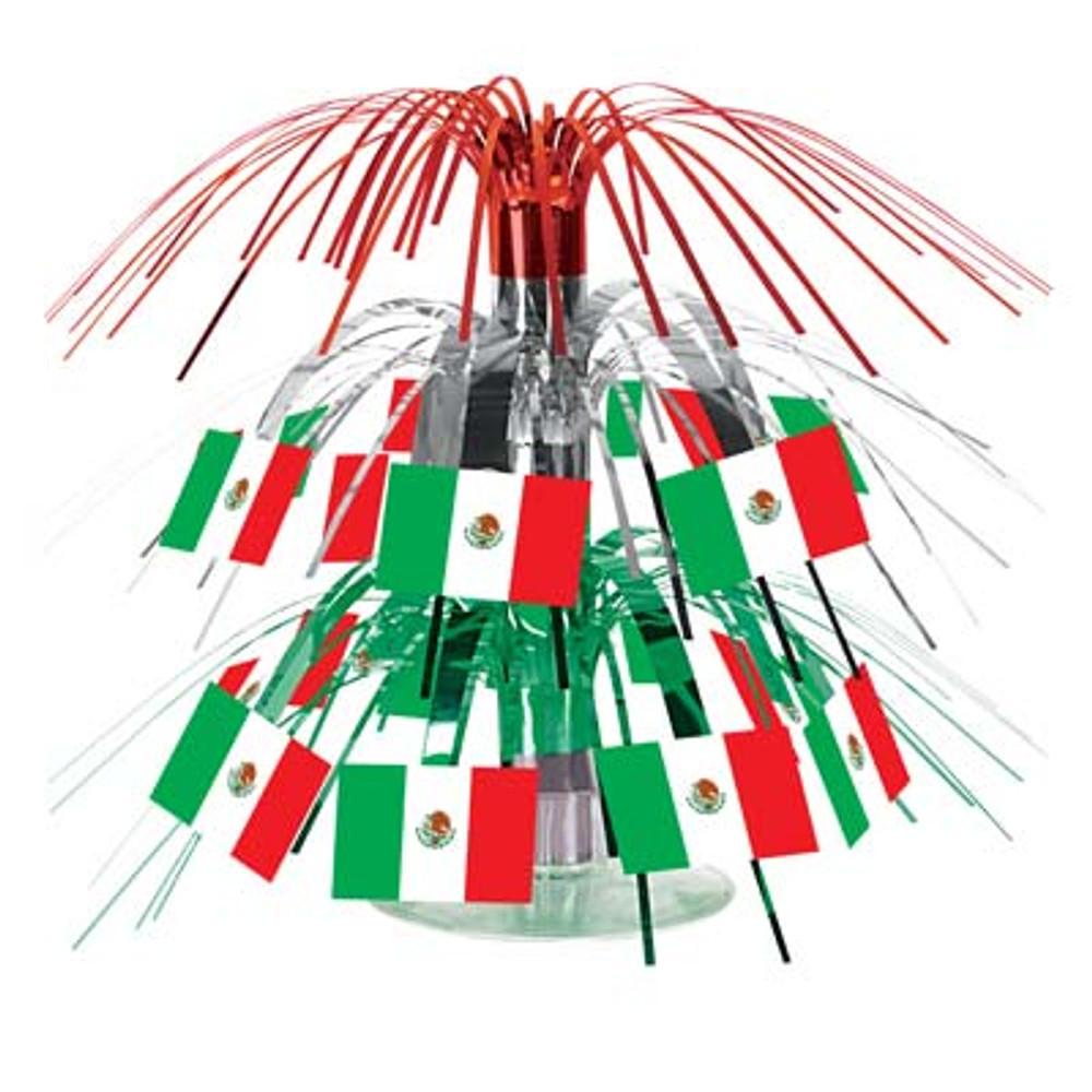 Mexican Flag Cascade Centrepiece