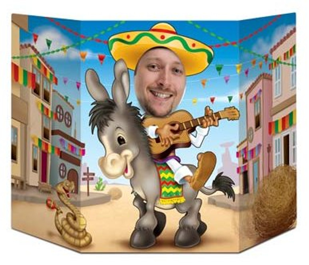 Mexican Donkey Photo Prop