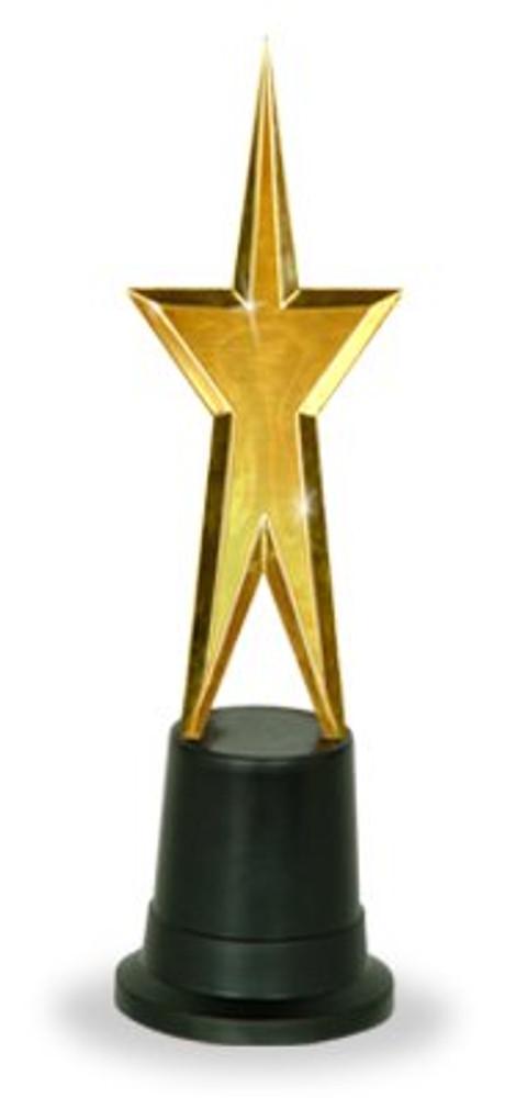 Movie Awards Night Gold Gold Star Statue