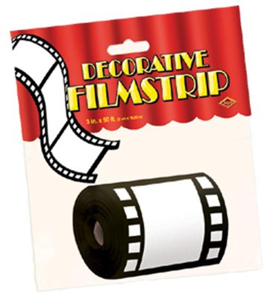 Movie Film Decorative Strip