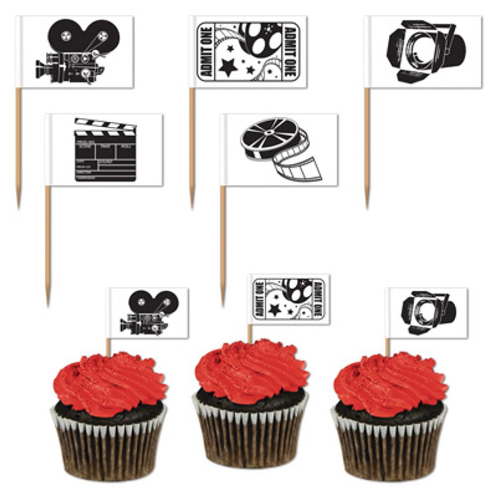 Movie Set Toothpicks