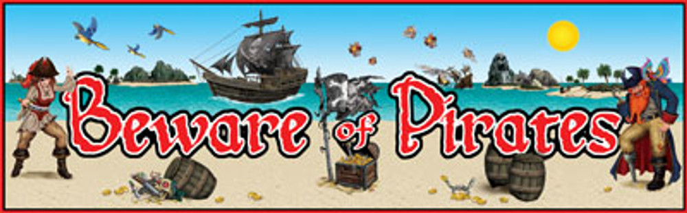 Pirates Beware Banner