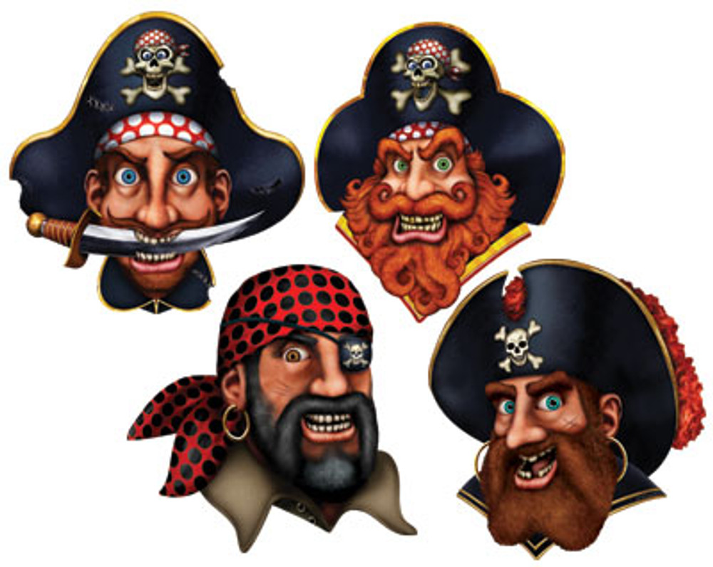 Pirate Crew Cut Outs