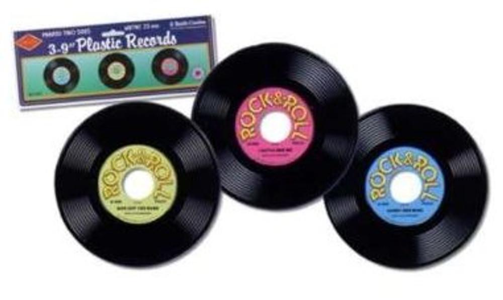Rock & Roll Record pkt 3 - Plastic