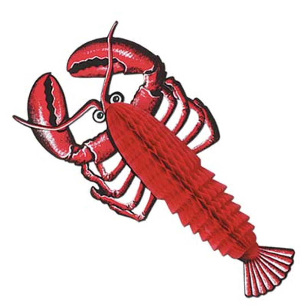 Lobster Tissue Decoration
