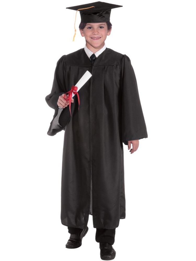 Graduation Robe Black Childs