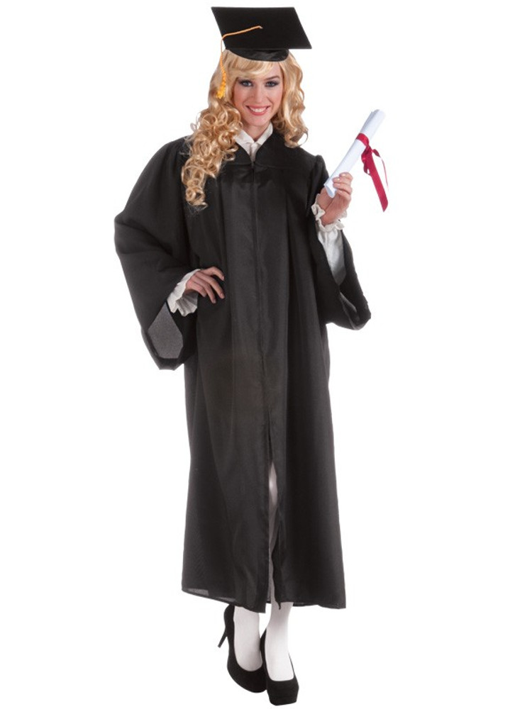 Graduation Robe Black Adult