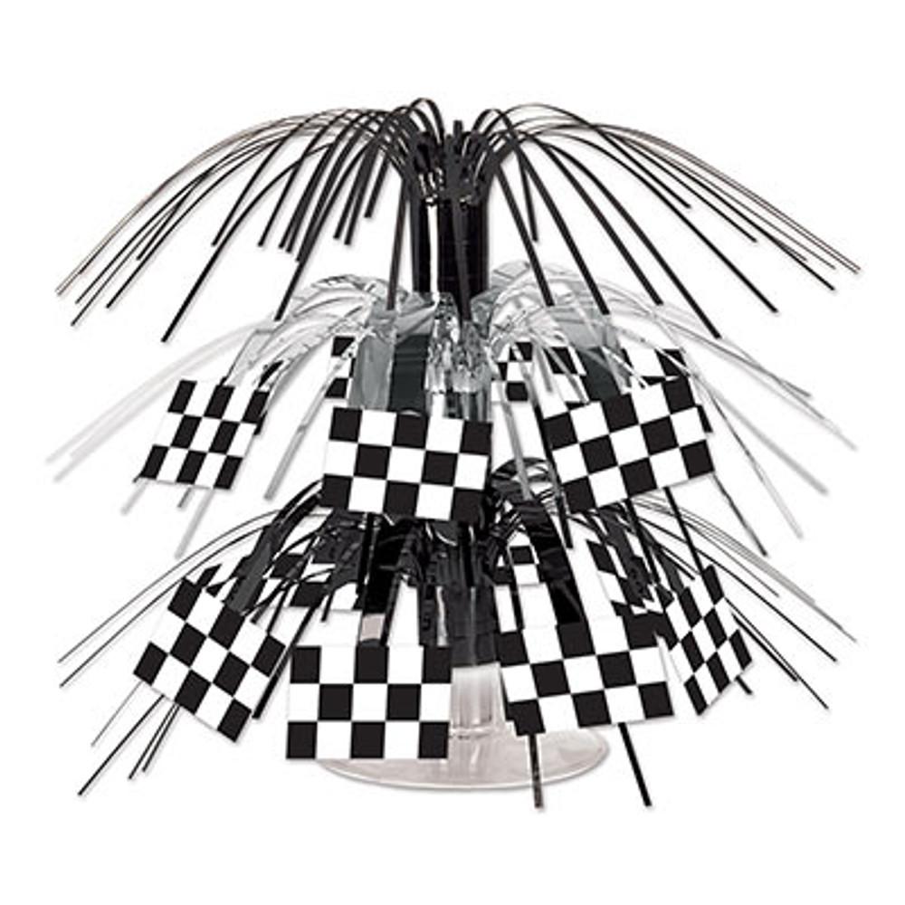 Checkered Flag Cascade Centrepiece