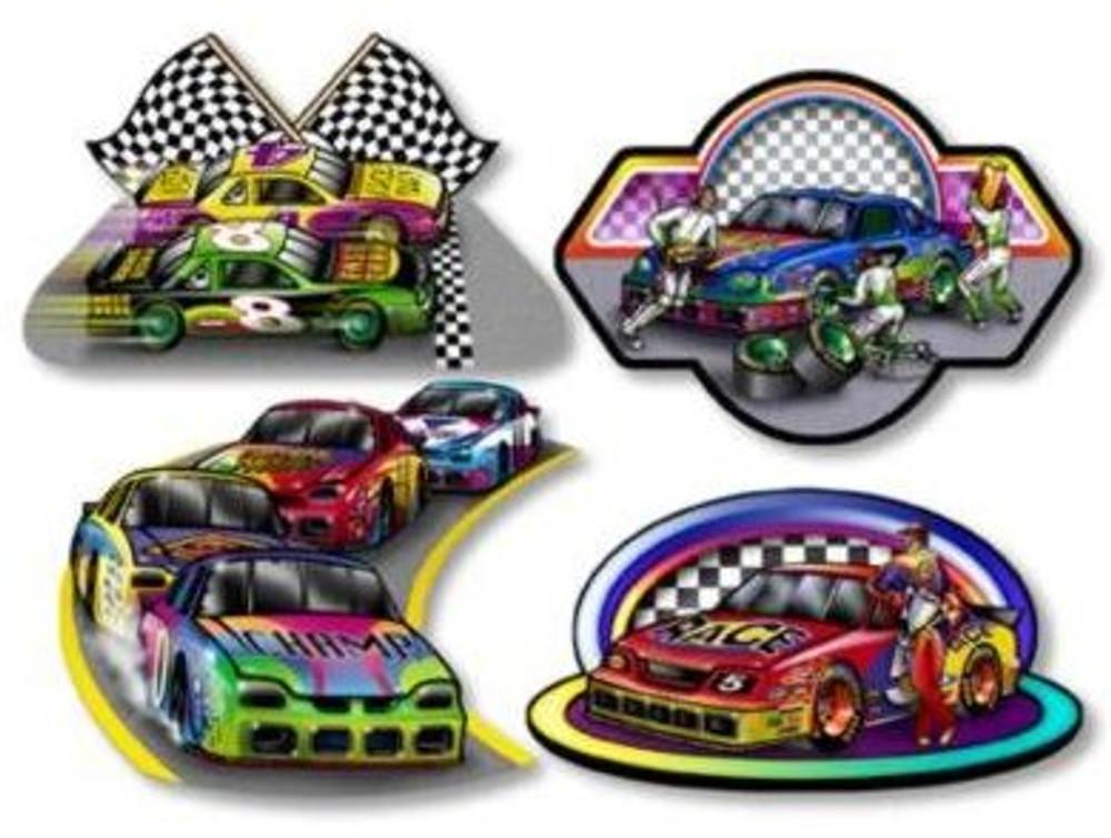 Race Car Cut Out
