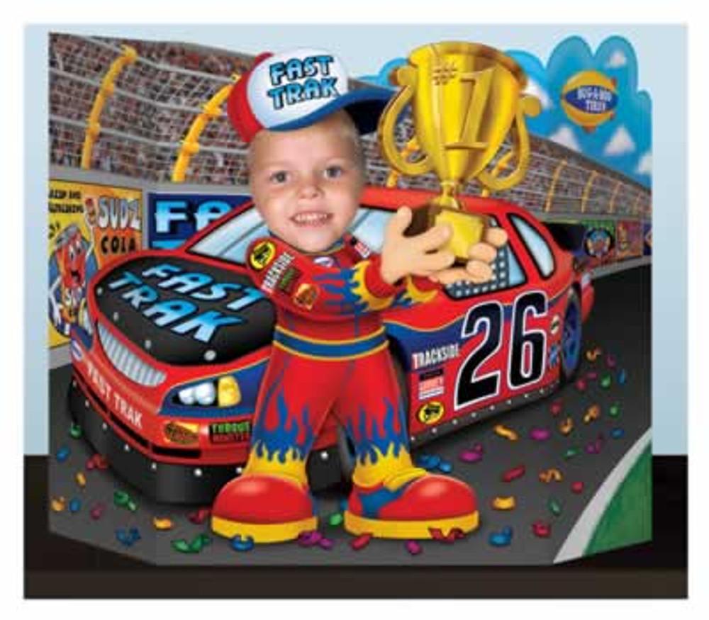 Race Car Driver Photo Prop