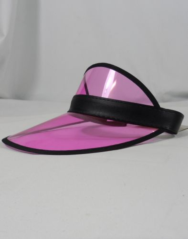 Hat Card Dealers Visor Pink