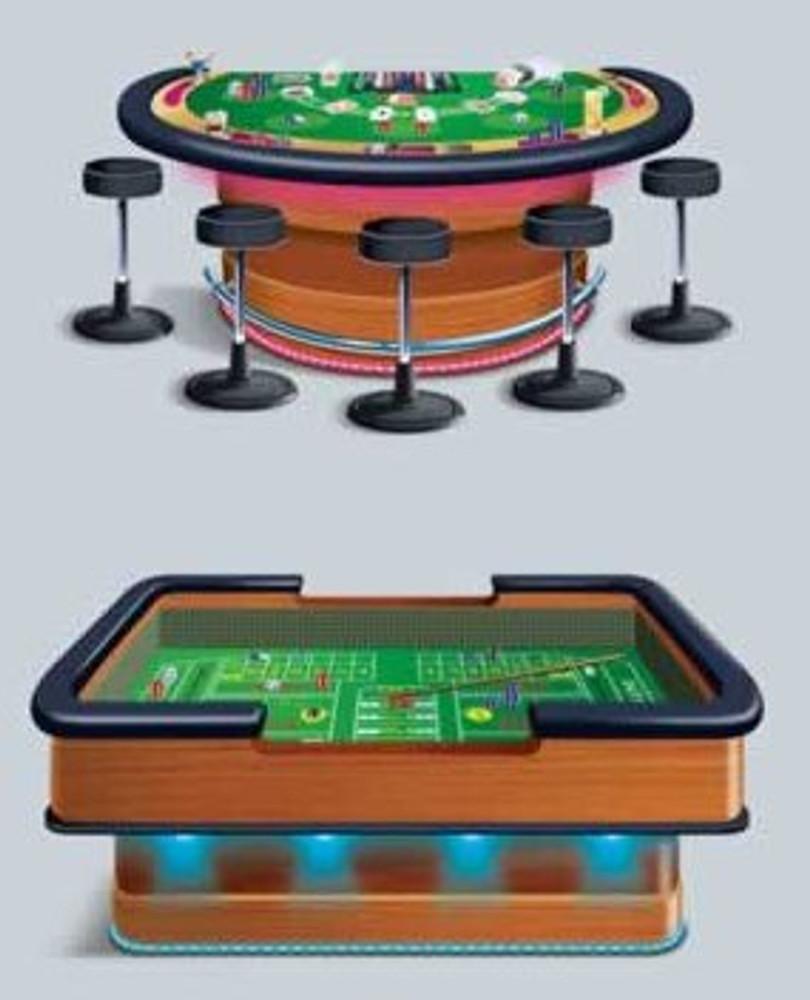 Craps & Blackjack Tables Props