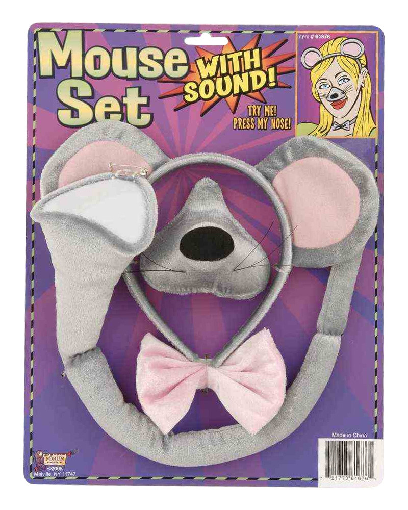 Mouse Dress Up Set with sound