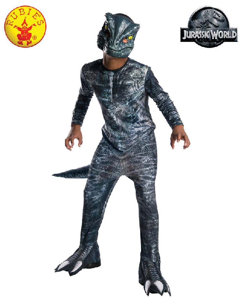 Jurassic World Velociraptor Blue Childrens Costume