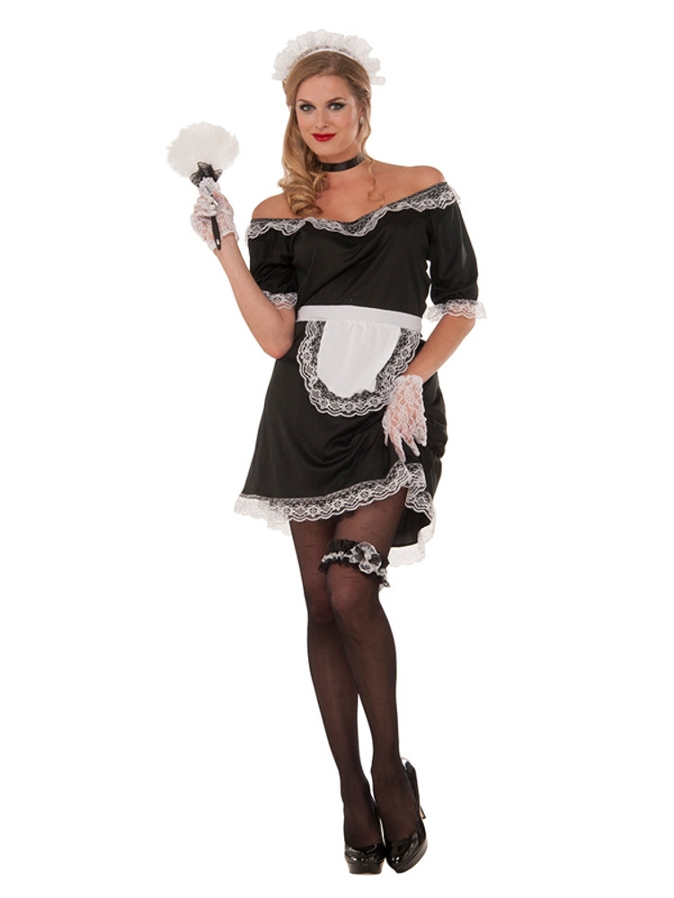 French Maid Woman's Costume