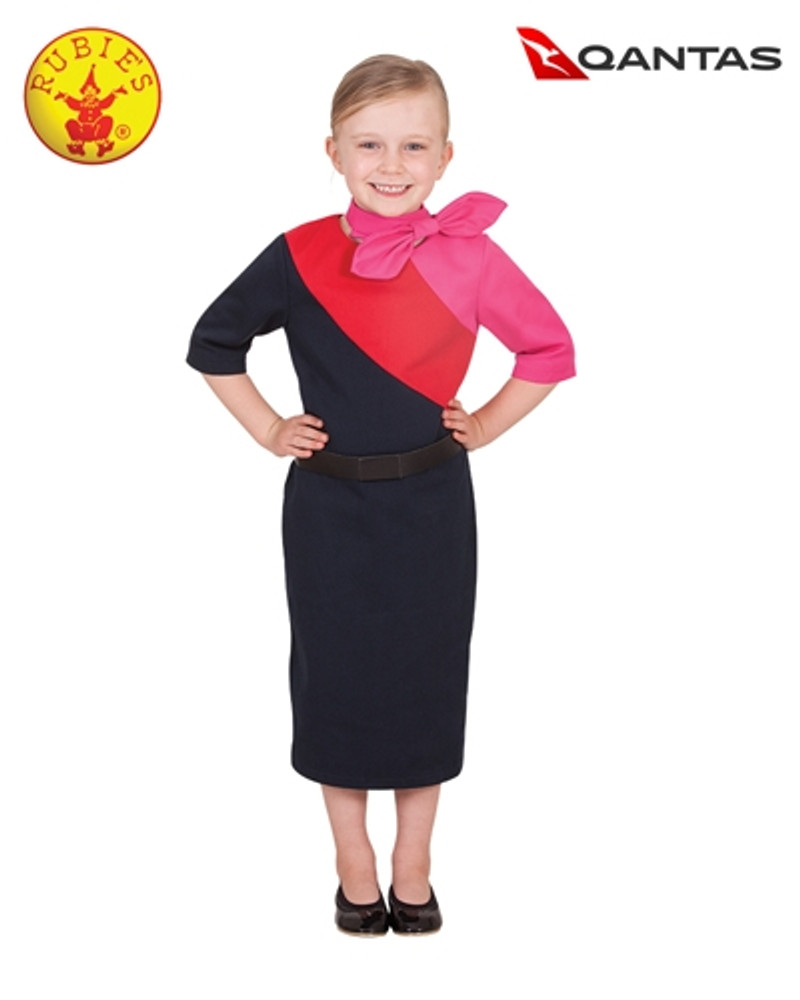 Qantas Cabin Crew Girls Uniform