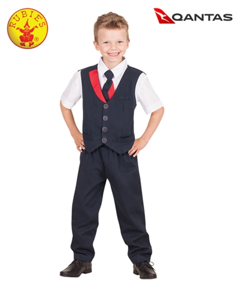 Qantas Cabin Crew Boys Uniform