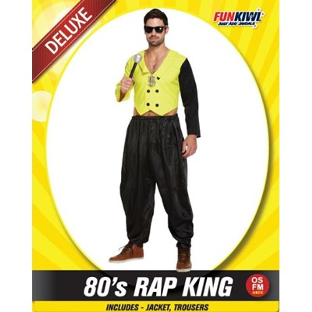 80's Rap King Adult Costume