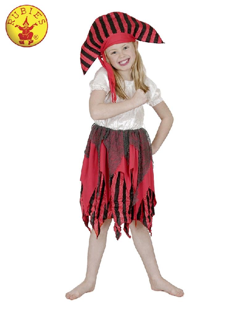 Pirate Deckhand Girls Costume