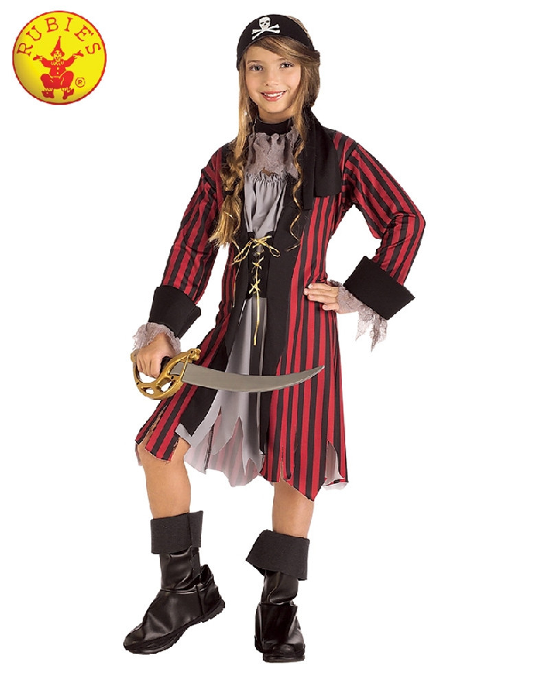 Pirate Caribbean Princess Girls Costume