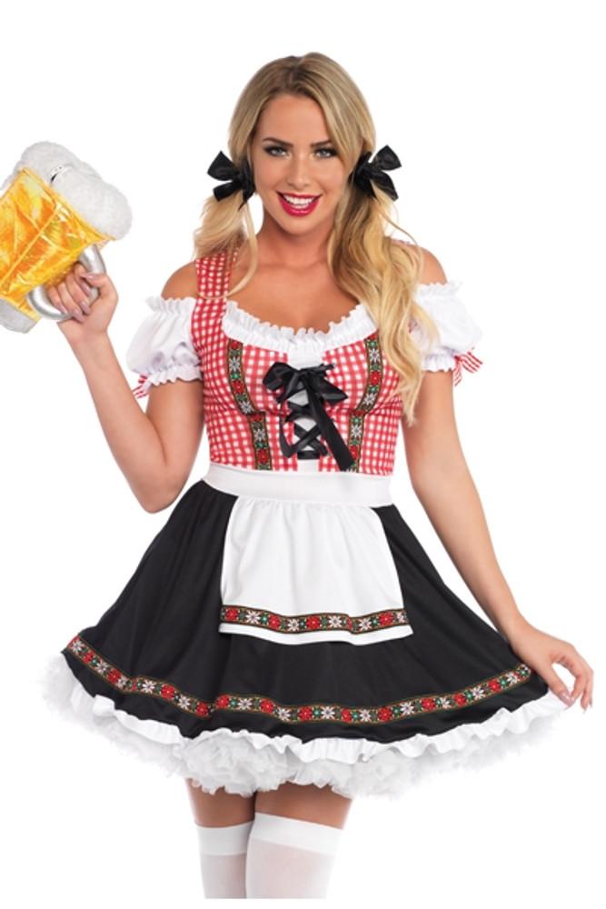 Oktoberfest Beer Garden Babe Costume