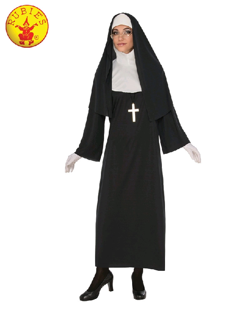 Nun Womens  Adult Costume