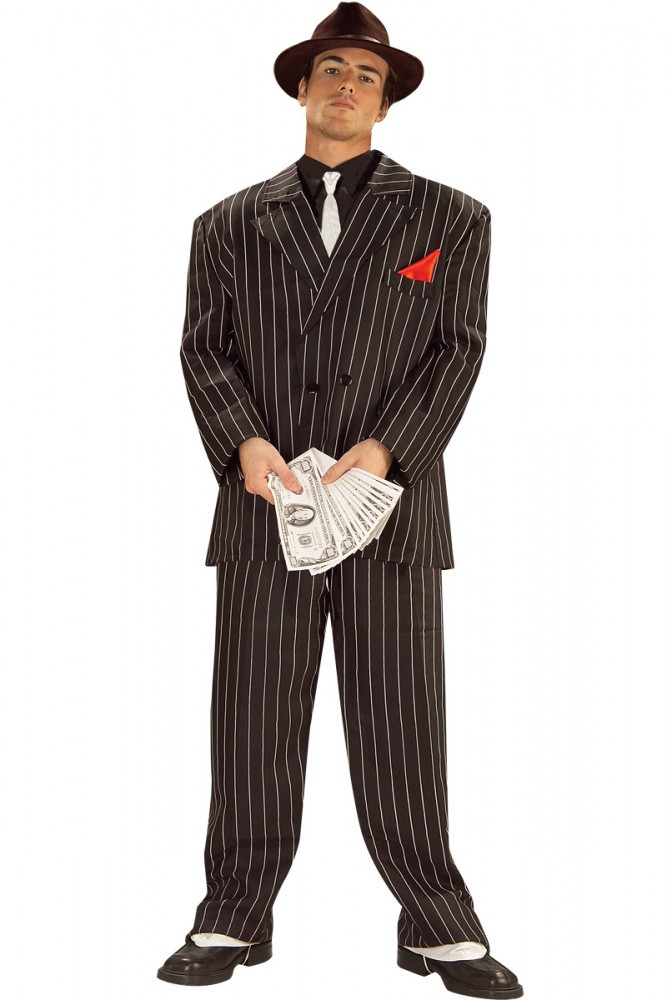 1920's Chicago Gangster Mens Costume