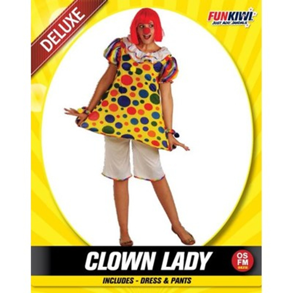 Clown Adult Costume