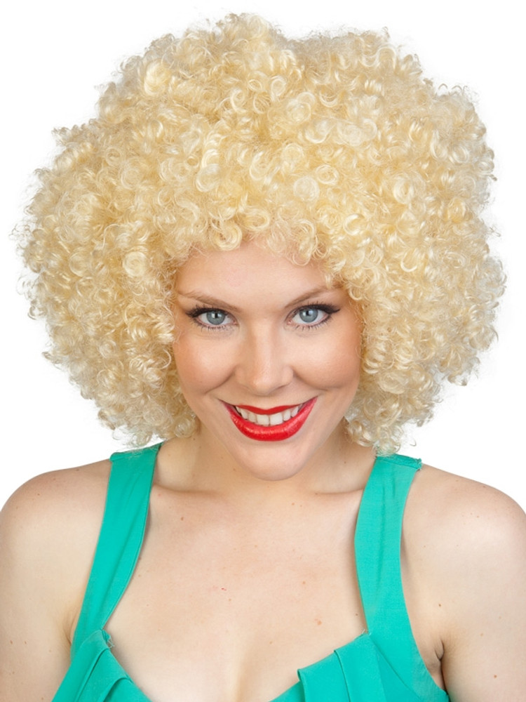 Afro 1970's Blonde Wig