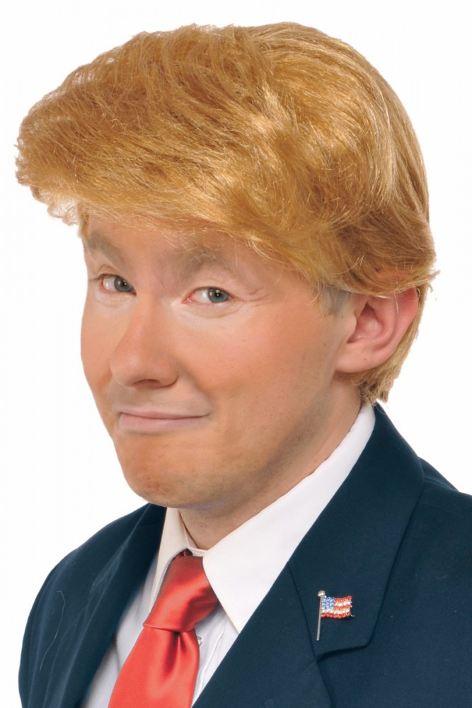 Trump Mr Billionaire Wig