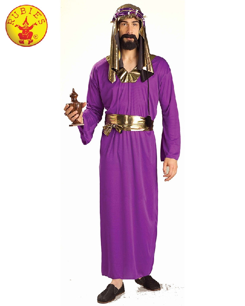 Nativity Wiseman Purple Mens Costume