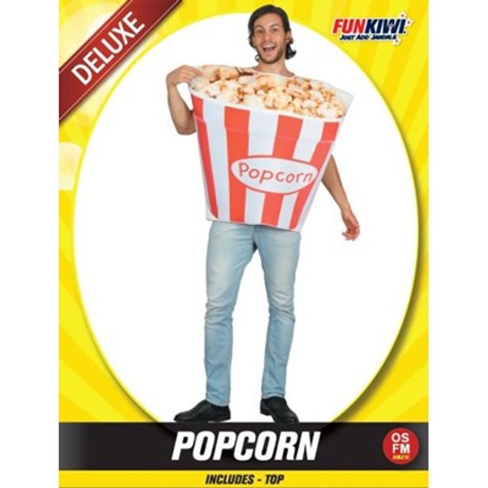 Popcorn Food Adult Costume