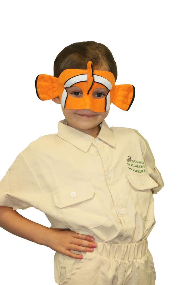 Clown Fish Nemo Animal Mask