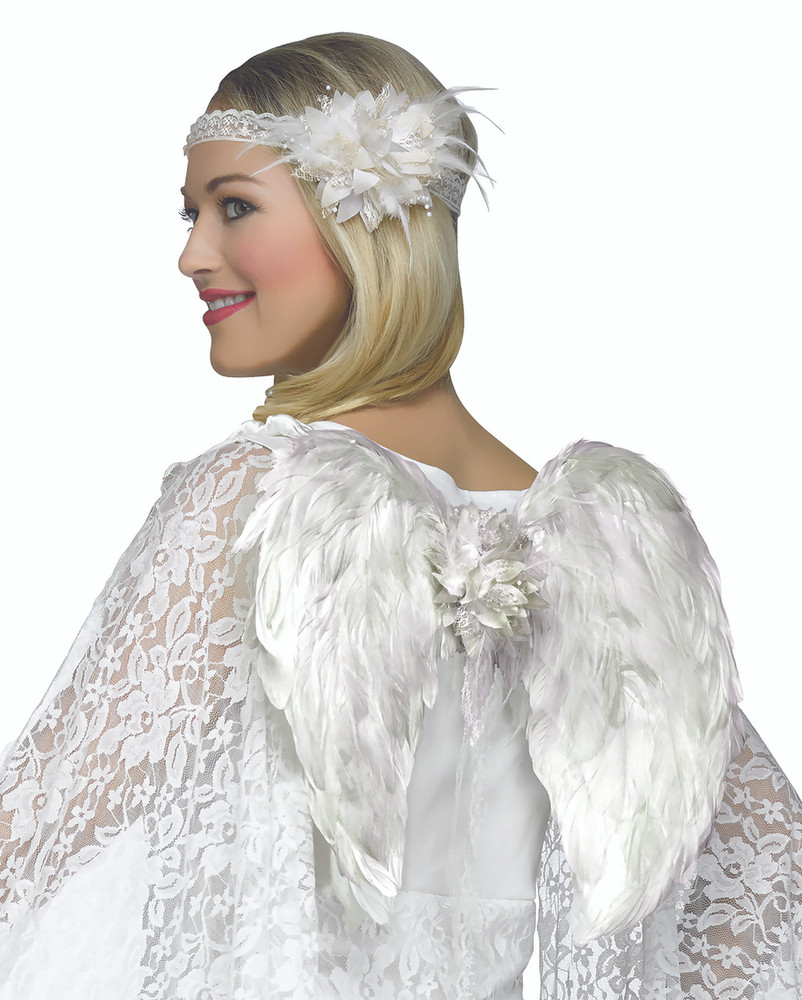 Angel Deluxe Feathered Wing Set