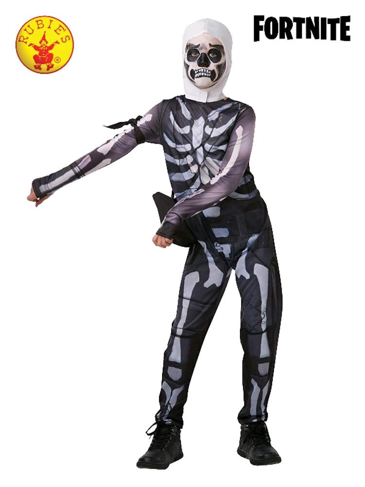 Fortnite - Skull Trooper Boys Tween Costume