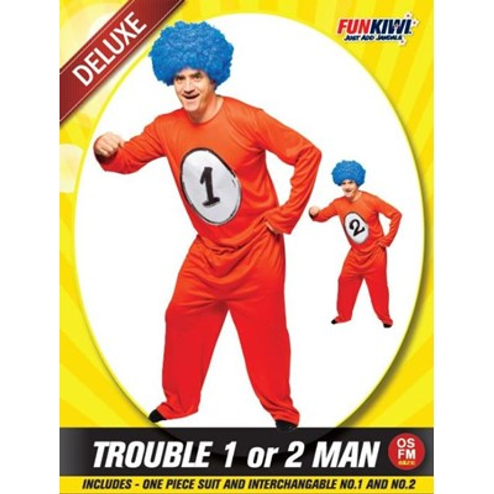 Dr. Seuss Thing Costume Adult Costume