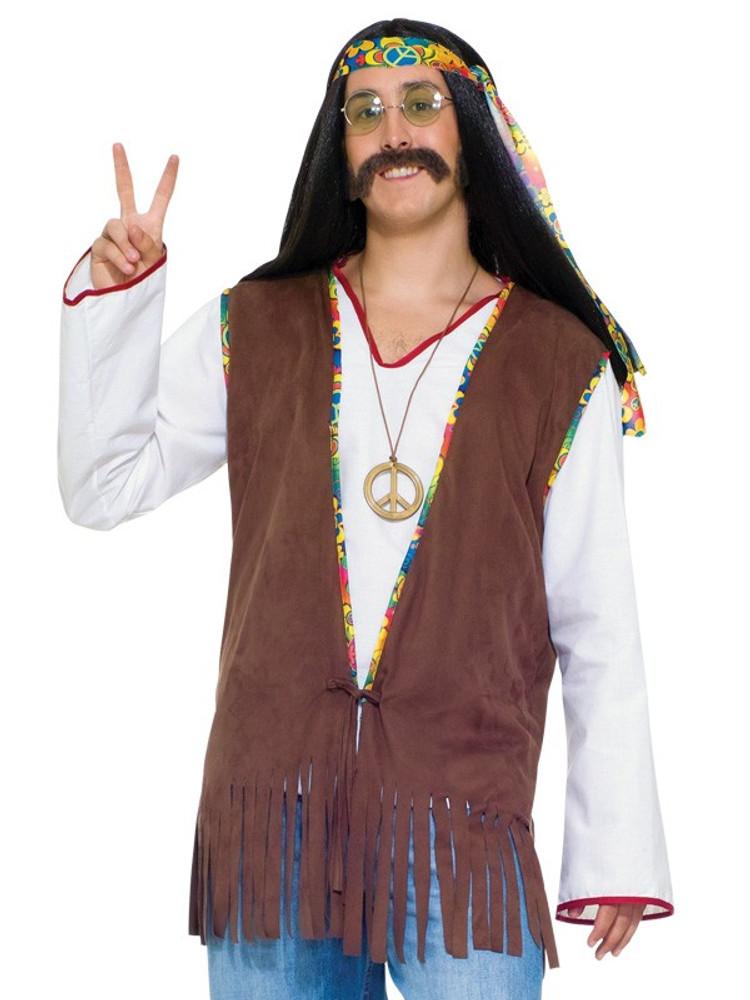 1960's Hippie Vest Male
