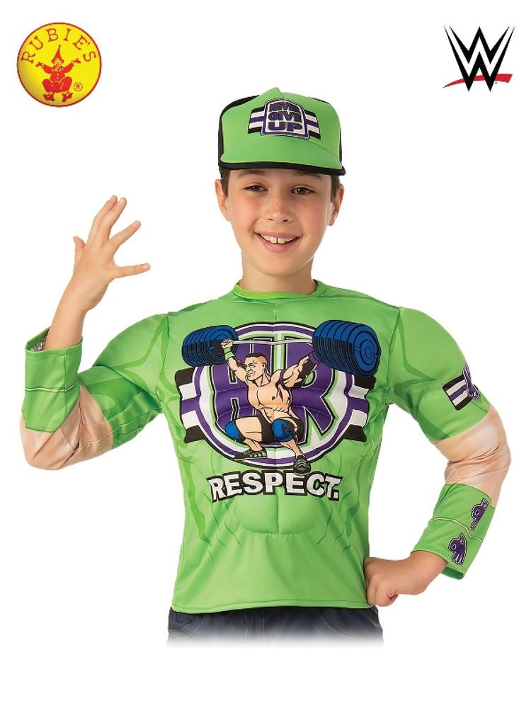 John Cena Wrestler Kids Costume