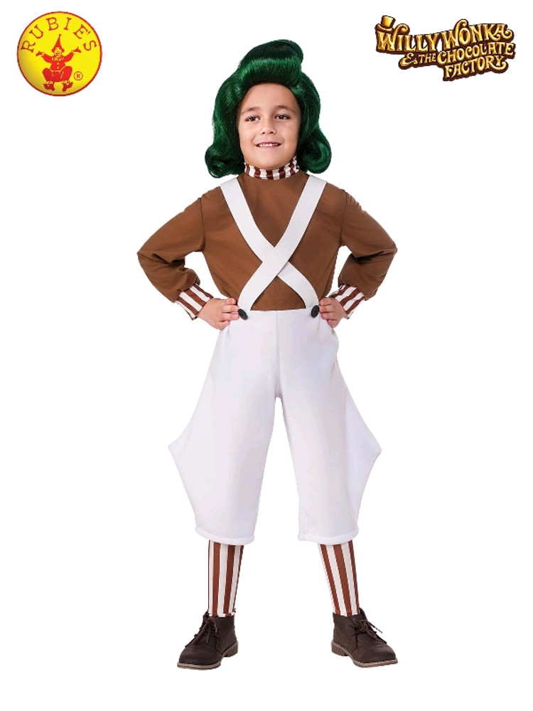 Willy Wonka - Oompa Loompa Child Costume